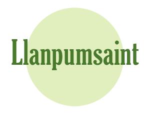 Llanpumsaint Logo