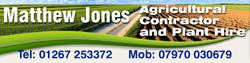 Matthew Jones Agricultural Contractor